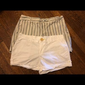 Gap & Old Navy short lot, two pairs